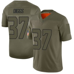 Quandre Diggs Seattle Seahawks Youth Limited Camo 2019 Salute to Service Jersey